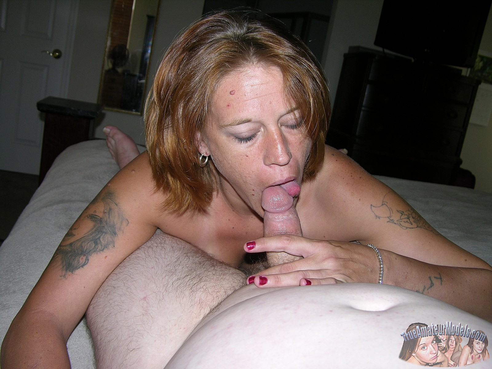 Blonde bbw removes dentures for gumjob and anal - 2 part 1