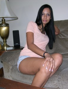 Amateur Black Girl Modeling Nude