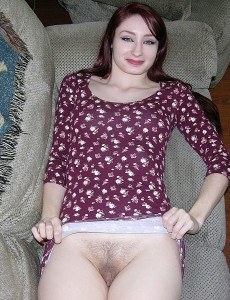 hairy-pussy-redhead-violet-model14